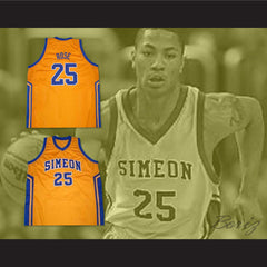 Derrick Rose Simeon High School Basketball Jersey New Any Size Online Tracking - borizcustom