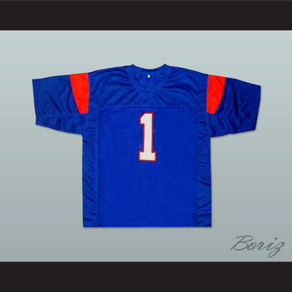 Harmon Tedesco 1 Blue Mountain State TV Show Football Jersey  New Any Size - borizcustom