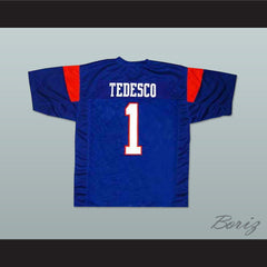 Harmon Tedesco 1 Blue Mountain State TV Show Football Jersey  New Any Size - borizcustom - 2