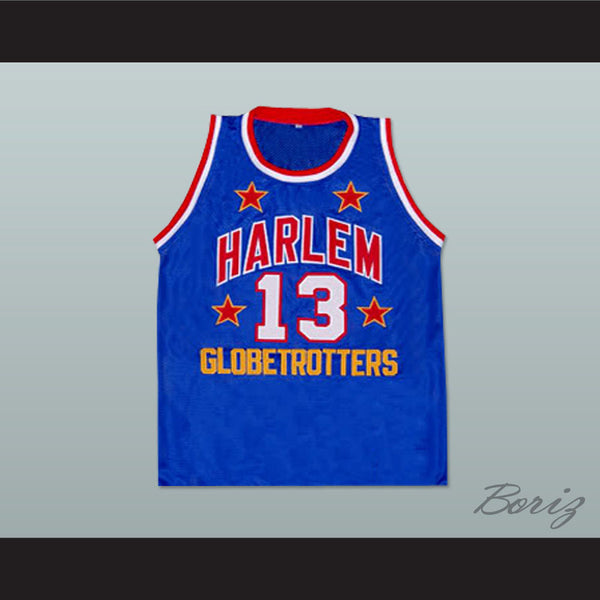 ba33a5bd3 ... New Product Image Wilt Chamberlain Harlem Globetrotters Basketball  Jersey New Any Size - borizcustom ... Wholesale Cheap Mens ...