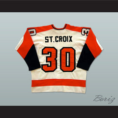 Maine Mariners Rick St. Croix 30 Home Hockey Jersey NEW Any Size or Player - borizcustom