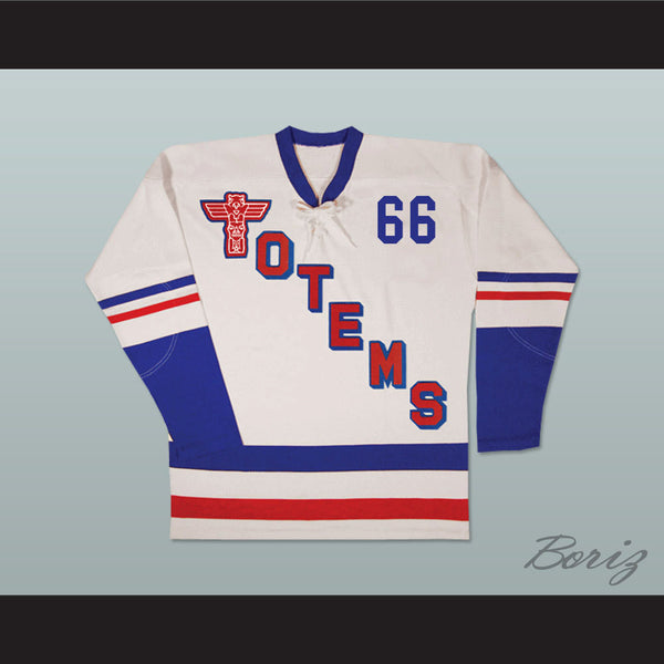 Seattle Totems Old School Hockey Jersey NEW Any Size or Player - borizcustom - 1