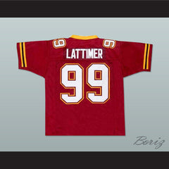 Steve Lattimer Football Jersey The Program Movie NEW Stitch Sewn - borizcustom - 2