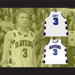 Lucas Scott 3 One Tree Hill Ravens Basketball Jersey  All Sewn  - Any Size NEW - borizcustom
