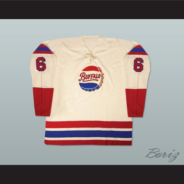 76097feec92 Product Image Buffalo Bisons Old School Hockey Jersey NEW Any Size Any  Player or Number - borizcustom ...