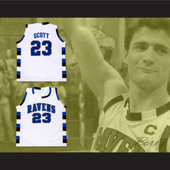 Nathan Scott 23 One Tree Hill Ravens Basketball Jersey All Sewn - Any Size - borizcustom
