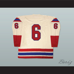 Buffalo Bisons Old School Hockey Jersey NEW Any Size Any Player or Number - borizcustom