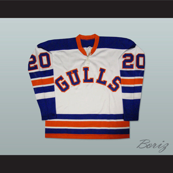 Willie O'Ree San Diego Gulls Old School Hockey Jersey NEW Any Size Any Player or Number - borizcustom