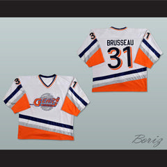 Mike Brusseau Saginaw/Ohio Gears Hockey Jersey NEW Any Size Any Player or Number - borizcustom