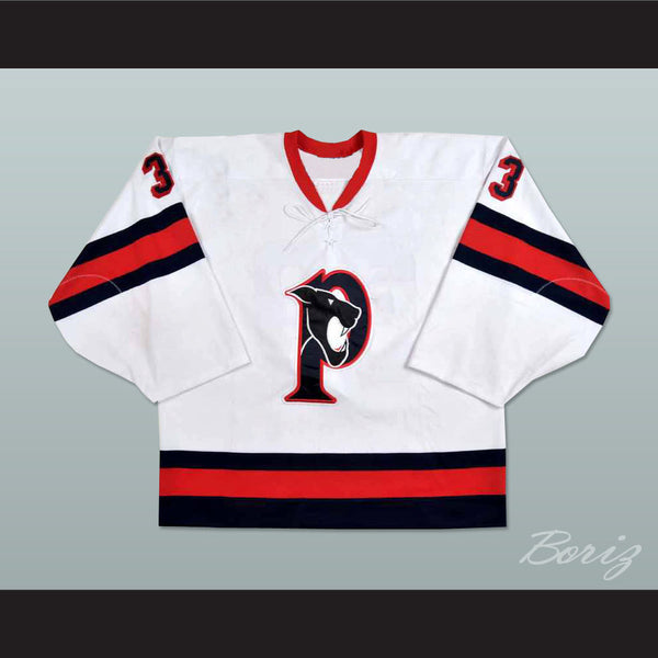 Brad Thiessen Penticton Panthers  Hockey Jersey NEW Any Size Any Player or Number - borizcustom