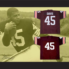 The Express: The Ernie Davis Story Movie Football Jersey New - borizcustom - 3