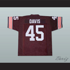 The Express: The Ernie Davis Story Movie Football Jersey New - borizcustom - 2