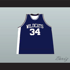 Len Bias Northwestern Wildcats High School Basketball Jersey New - borizcustom