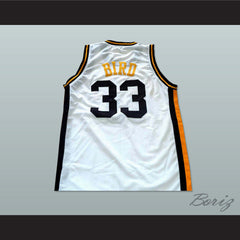 Larry Bird 33 Valley High School Basketball Jersey New - borizcustom