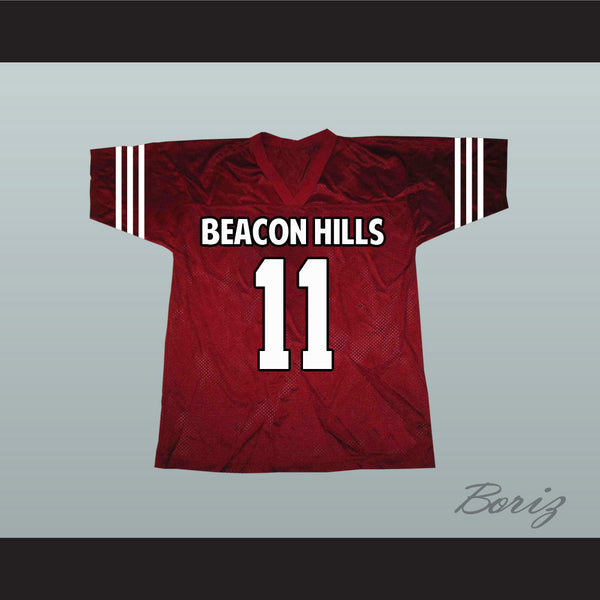 Scott McCall 11 Beacon Hills Lacrosse Jersey Teen Wolf TV Series New - borizcustom - 1