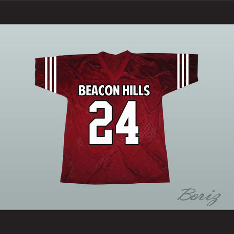 Stiles Stilinski 24 Beacon Hills Lacrosse Jersey Teen Wolf TV Series New - borizcustom - 1
