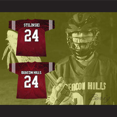 Stiles Stilinski 24 Beacon Hills Lacrosse Jersey Teen Wolf TV Series New - borizcustom - 3
