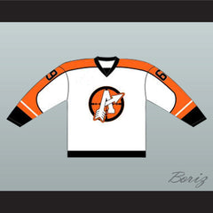 "Doug ""The Thug"" Glatt GOON Movie Orangetown Assassins Hockey Jersey NEW - borizcustom"