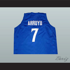 Carlos Arroyo 7 Puerto Rico Basketball Jersey White or Blue New - borizcustom