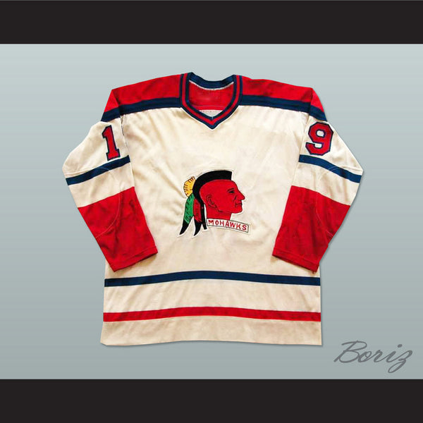 Muskegon Mohawks Hockey Jersey Any Player or Number Stitch Sewn New - borizcustom