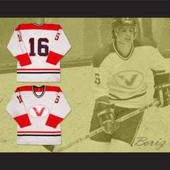 Pat LaFontaine Verdun Juniors Hockey Jersey Any Size Any Player or Number NEW - borizcustom - 3