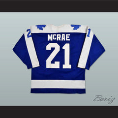 Basil McRae St. Catherine Saints Hockey Jersey Any Size Any Player or Number NEW - borizcustom