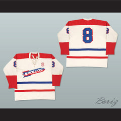Houston Apollos Hockey Jersey Any Size Any Player or Number NEW - borizcustom - 3