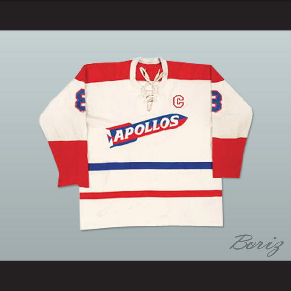 Houston Apollos Hockey Jersey Any Size Any Player or Number NEW - borizcustom