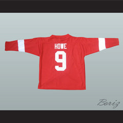 Unique Gordie Howe 9 Specially Made Hockey Jersey Any Size NEW - borizcustom - 2