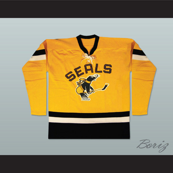 San Francisco Seals Old School Hockey Jersey NEW Any Size Stitch Sewn - borizcustom - 1