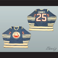Cornwall Aces Rene Corbet 25 Hockey Jersey NEW Any Size Any Player or Number - borizcustom