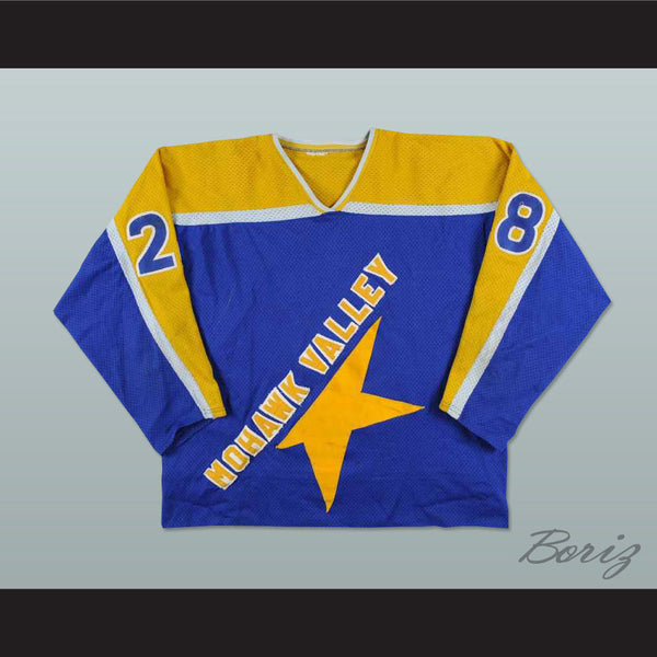 Mohawk Valley Stars Hockey Jersey New Stitch Sewn - borizcustom