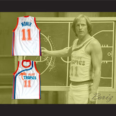 Flint Tropics 11 Ed Monix Basketball Jersey Semi Pro Team New - borizcustom