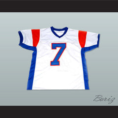 Alex Moran 7 Blue Mountain State TV Show Football Jersey  New Any Size - borizcustom
