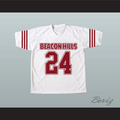 Stiles Stilinski 24 Beacon Hills Lacrosse Jersey Teen Wolf TV Series New - borizcustom - 4