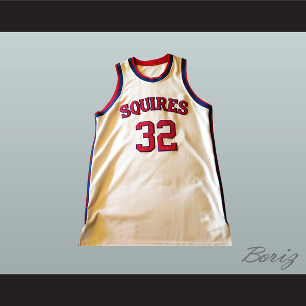 Julius Erving Dr.J Virginia Squires Basketball Jersey 32 Stitch Sewn NEW - borizcustom