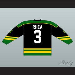 Ross The Boss Rhea St John's Shamrocks Hockey Jersey NEW from Goon Movie - borizcustom - 5