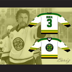 Ross The Boss Rhea St John's Shamrocks Hockey Jersey NEW from Goon Movie - borizcustom - 3