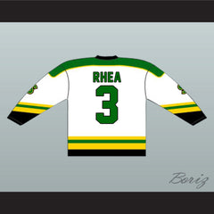 Ross The Boss Rhea St John's Shamrocks Hockey Jersey NEW from Goon Movie - borizcustom - 2