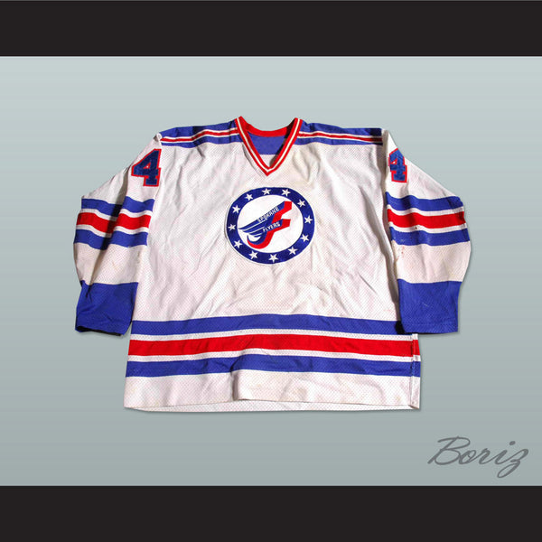 Spokane Flyers Hockey Jersey NEW Stitch Sewn - borizcustom