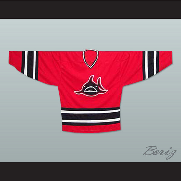 LA Sharks Red Hockey Jersey NEW Stitch Sewn - borizcustom