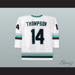 The Lansing Ice Wolves Derek Thompson 14 Minor League Hockey Jersey NEW Stitch Sewn - borizcustom - 2
