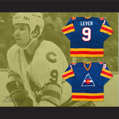Don Lever 9 Defunct Team Hockey Jersey NEW Stitch Sewn Any Player or Number - borizcustom