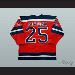 Gene Peacosh San Diego Mariners Hockey Jersey NEW Stitch Sewn Any Player or Number - borizcustom