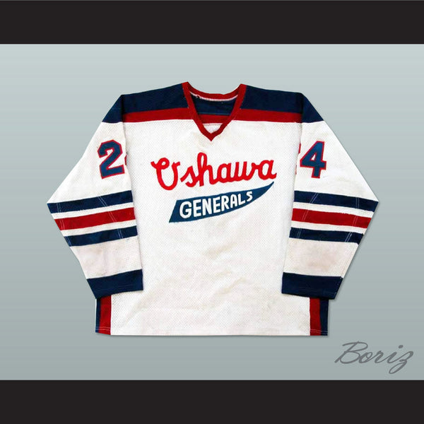 Chris McRae Oshawa Generals Hockey Jersey NEW Stitch Sewn Any Player or Number - borizcustom
