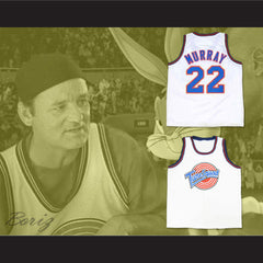Bill Murray Space Jam Tune Squad Basketball Jersey Any Size Made to Order ALL Sewn - borizcustom