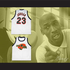 Michael Jordan Space Jam Tune Squad Jersey Stitch Sewn Custom Name - borizcustom