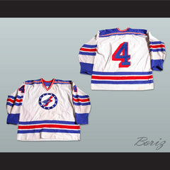 Spokane Flyers Hockey Jersey NEW Stitch Sewn - borizcustom - 3