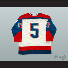 Team USA Tie Down Hockey Jersey NEW Stitch Sewn Any Player or Number - borizcustom - 2