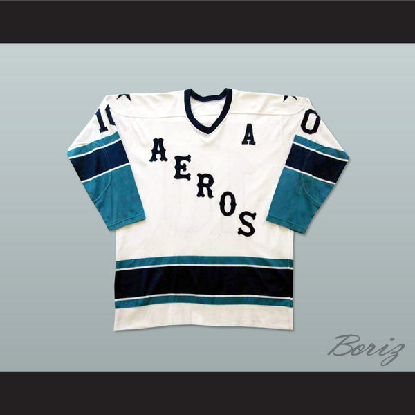 Gord Labossiere Houston Aeros Hockey Jersey NEW Stitch Sewn Any Player or Number - borizcustom - 1